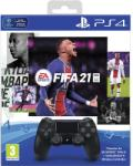 Sony PlayStation 4 Dualshock 4 v2 + FIFA 21 Gamepad, kontroller