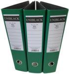 Uniblack Iratrendező, PP, 75 mm, Rado, Zöld, 3db (BI-75V-UB)