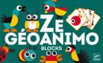 DJECO Ze Geoanimo - Joc tangram de asociere