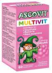 Ascovit Multivit cu aroma de zmeura, 60 comprimate, Omega Pharma