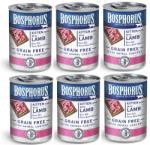Bosphorus BOSPHORUS KITTEN FOOD with LAMB GRAIN FREE - КОМПЛЕКТ 6 бр консерви за подрастващи котенца с вкусно, прясно агнешко БЕЗ ЗЪРНО, 6 х 415 гр Турция (rusi BOSPHORUS KITTEN FOOD with LAMB GRAIN FREE 6 х 41