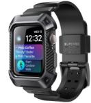 Supcase Unicorn Beetle Pro - Apple Watch 4/5 (44mm) extrém szíj és védőkeret - fekete