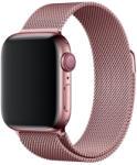 Tech-Pro Milanese Band - Apple Watch 1/2/3/4 (38 / 40mm) fémszíj - roze gold