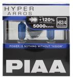 PIAA Hyper Arros 5000K HB3/HB4, +120% ragyogó fehér fény, 5000K színhőmérséklet, 2 db (HE-929)