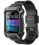 Supcase Unicorn Beetle Pro Apple Watch 44mm ütésálló tok és szíj - fekete