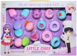 Roben Toys Set Desert cu prajituri si inghetata (H5059) Bucatarie copii