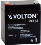 VOLTON Acumulator stationar plumb acid VOLTON 12V 5Ah AGM VRLA (OT5-12)