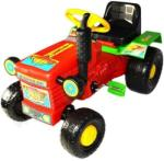 BJ PLASTIC Tractor Willy BJ PLASTIC - red (carubebe_722-red)