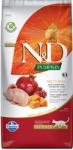 Farmina N&D Pumpkin Quail&Pomegranate Neutered - пълноценна храна за кастрирани котки с пъдпъдък, тиква и нар; без зърно 5.00 кг