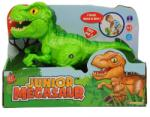Mighty Megasaur DINOZAUR Junior cu sunete si functie de mers T-Rex Verde (BBFO16953B)