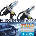 X-Light STORM Bec BiXenon H4 X-Light STORM - crazysheep