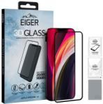 Eiger Folie Protectie Sticla Temperata Eiger 3D EGSP00621 pentru Apple iPhone 12 mini (Transparent/Negru) (EGSP00621)