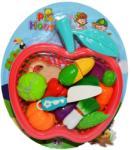 Roben Toys Set de joaca - Fructe si legume pretaiate in cos (228A14) Bucatarie copii