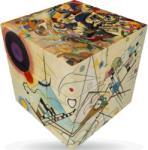 Verdes Innovation S. A. 3x3 speedcube, Kandinsky