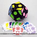 LanLan 3x3x3 Gear Dodecahedron Megaminx cube