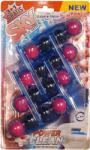 SKY blue aktiv ароматизатор за тоалетна чиния синя вода, Pink magnolia, 4х55гр
