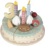 Little Dutch Tort aniversar cu decoratiuni pentru 1-5 ani - varianta XL - Little Dutch Bucatarie copii