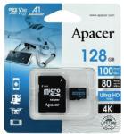 Apacer microSDXC 128GB C10/V30 AP128GMCSX10U7-R
