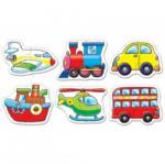 TOY World Int Puzzle 2 piese Mijloace de transport (KT 858)