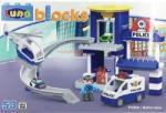 Luna Blocks police 48x33x8, 5 set 53pcs