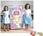 Poppik Kreatív poszter készítés 1600 db puzzle matricával, Pop művészet