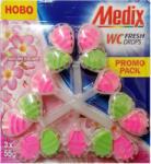 Mexon MEDIX ароматизатор за тоалетна чиния, Wc fresh drops, Nature escape, 3х55гр