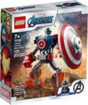 LEGO Super Heroes - Amerika kapitány páncélozott robotban (76168)