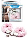 Lovetoy Catuse Fetish Pleasure Fluffy Hand Cuffs, Pink