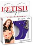 Pipedream - Fetish Fantasy Series Catuse Designer Cuffs, Purple