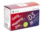 Remedia Calciu, Magneziu, Zinc si vitamina D3, Remedia, 30 plicuri