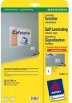 Zweckform Етикети Self Laminating 67.5x255мм. 10 листа (1)