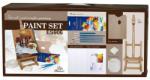 Set pictura in acril cu sevalet PHOENIX Paint ES906, 23 piese/set Sevalet