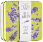 Scottish Fine Soaps Testszappan fém dobozban Francia levendula - Scottish Fine French Lavender Soap In A Tin 100 g