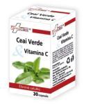 FarmaClass Ceai verde & Vitamina C - 30 cps