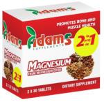 Adams Vision Magneziu 375 mg - 30 cpr 1+1 Gratis