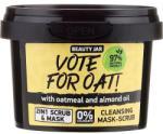 Beauty Jar Mască-Scrub de curățare - Beauty Jar Vote For Oat! Cleansing Mask-Scrub 100 g Masca de fata