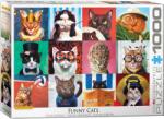 EUROGRAPHICS Пъзел Eurographics от 1000 части - Забавни котета (60005522)