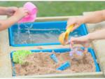 Wendi Toys Masa de picnic senzoriala cu bancute si loc pentru nisip si apa (T3), Wendi Toys (WE-215) Casuta pentru copii