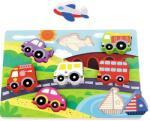 Tooky Toy Дървен пъзел Tooky Toy - Пътешествие (108743) - baby
