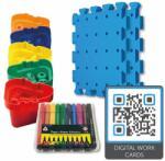Nexus - Set creativ Planseta Pentru tepuse, Cu 50 tepuse (Nex907025QR)