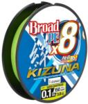 Balzer Owner Kizuna 8x lime zöld 135m 0, 10mm fonott zsinór