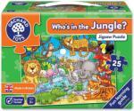 Orchard Toys Детски пъзел Orchard Toys - Кой живее в джунглата, 25 части (OR216)