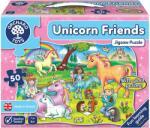 Orchard Toys Детски пъзел Orchard Toys - Приятели еднорози, 50 части (OR291)