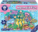 Orchard Toys Детски пъзел Orchard Toys - Забавление с русалки, 15 части (OR294)