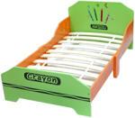 Stylebebe Pat cu cadru din lemn Green Crayon (BEB-GCRX1JB)
