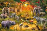 Schmidt Spiele Пъзел Schmidt от 150 части - Африкански животни (56195)