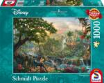 Schmidt Spiele Пъзел Schmidt от 1000 части - Книга за джунглата, Томас Кинкейд (59473)