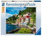 Ravensburger Пъзел Ravensburger 500 елемента - Езерото Комо, Италия - 7014756 - igra4ka