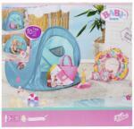 Zapf Creation Baby Born - Set Plaja - Cort Cu Accesorii - Zapf (zf829257)