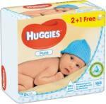 Huggies Șervețele umede pentru copii Huggies pure trio 56x3